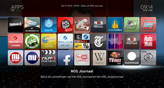 UPC Horizon apps image