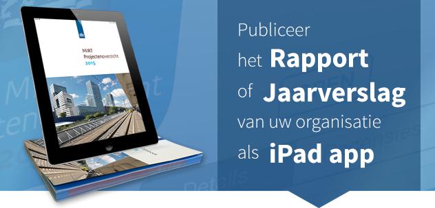 Jaarverslag iPad app image